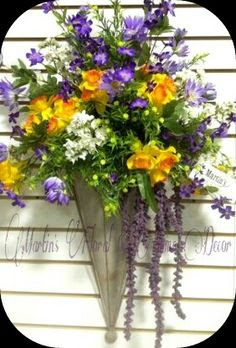 Flower arrangements on Pinterest