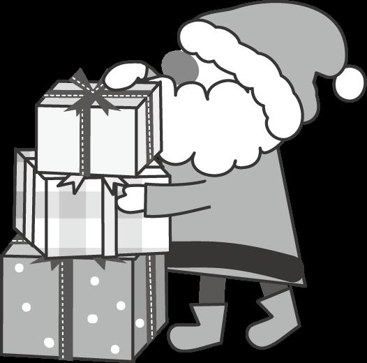 クリスマスのイラスト無料イラスト