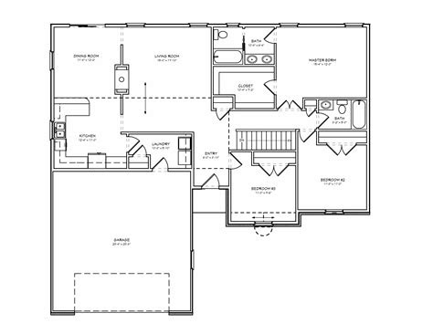 unique small ranch home plans   bedroom house plans