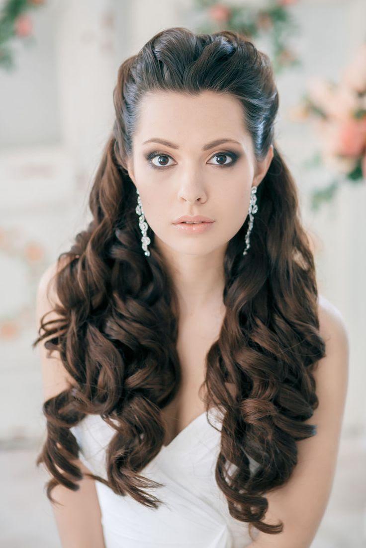 Wavy Hairstyles Half Up Half Down Photosgratisylegal