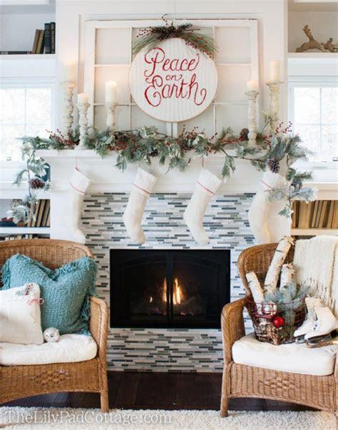 christmas mantel decorating ideas home decor tip junkie
