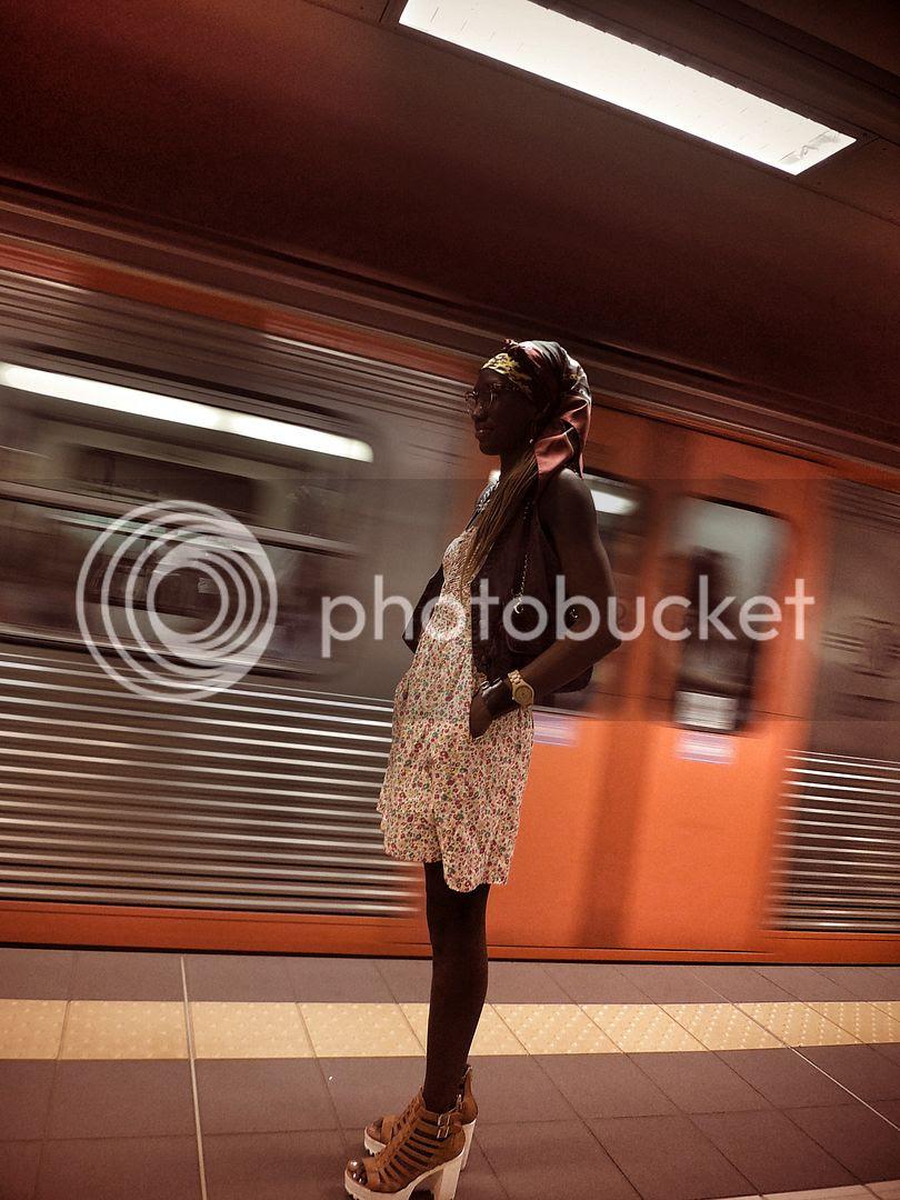 Floral dress and platform sandals.jpg