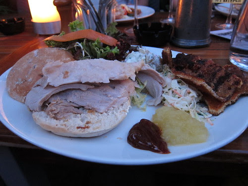 Pig Feast at Red Lion and Sun, Highgate