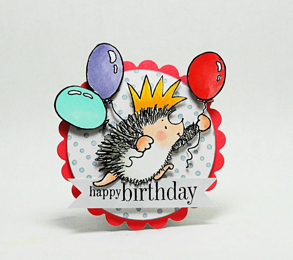 Happy Birthday Hedgie