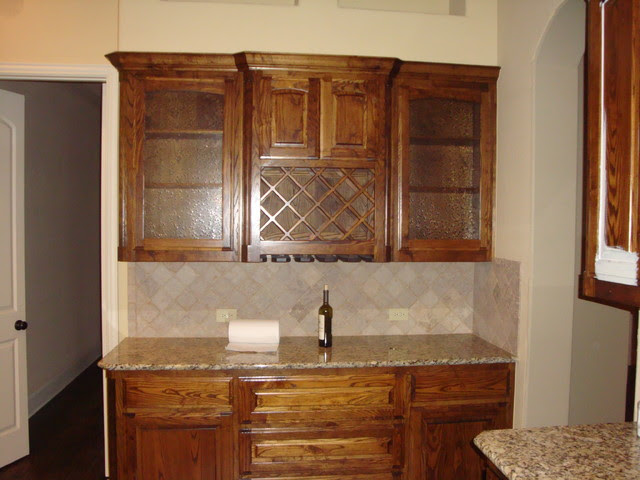 Custom Painting Ideas - Cabinets & Accent walls/niches