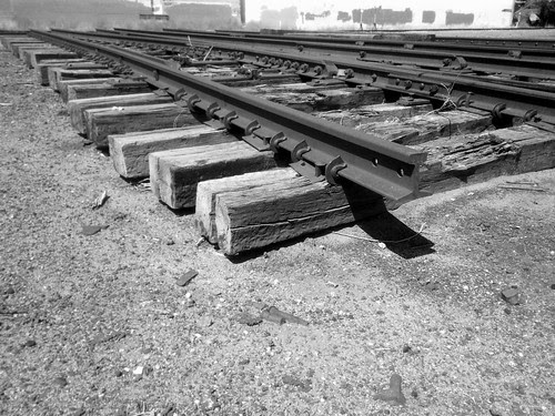End of the tracks
