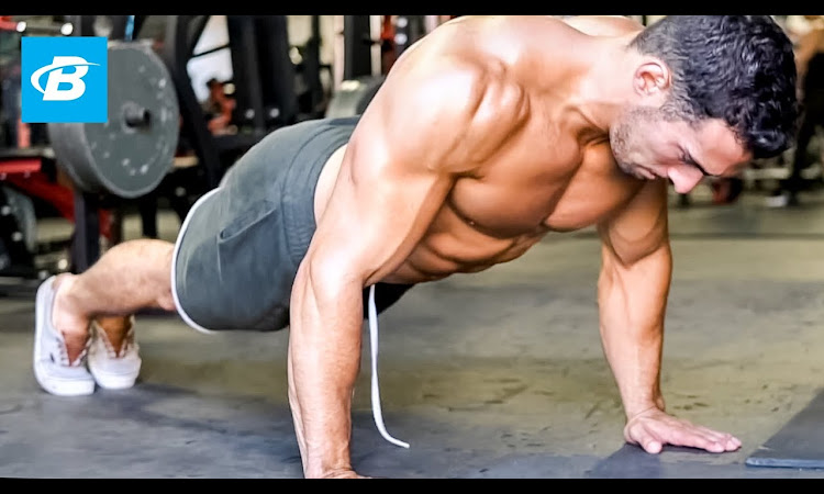 Muscle-Building Upper Body Workout - Chest, Shoulder, & Triceps | Brian ...