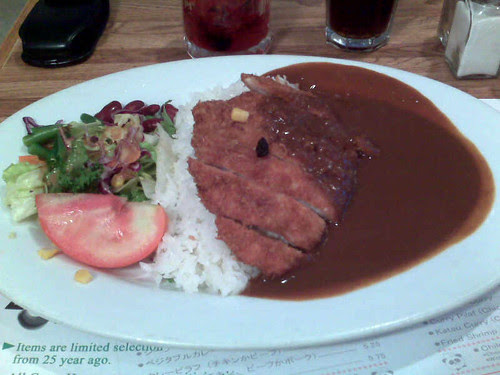 Katsu Pork Curry at Curry House in Little Tokyo, LA