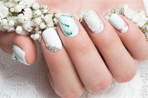 Beautiful Wedding Nail Art Designs   Nailschick