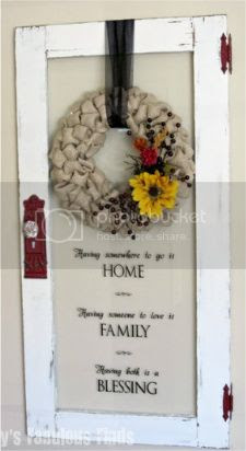 Fall Burlap Bubble Wreath