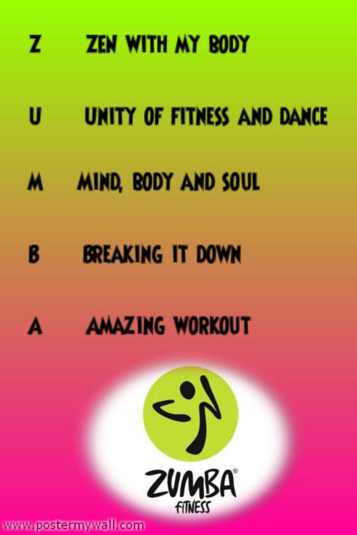 Zumba Fitness Motivational Quotes. QuotesGram