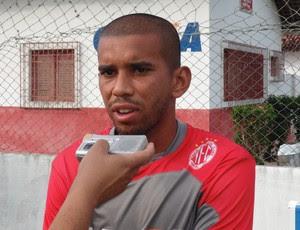 Judson - volante América-RN (Foto: Carlos Arthur da Cruz/Globoesporte.com)