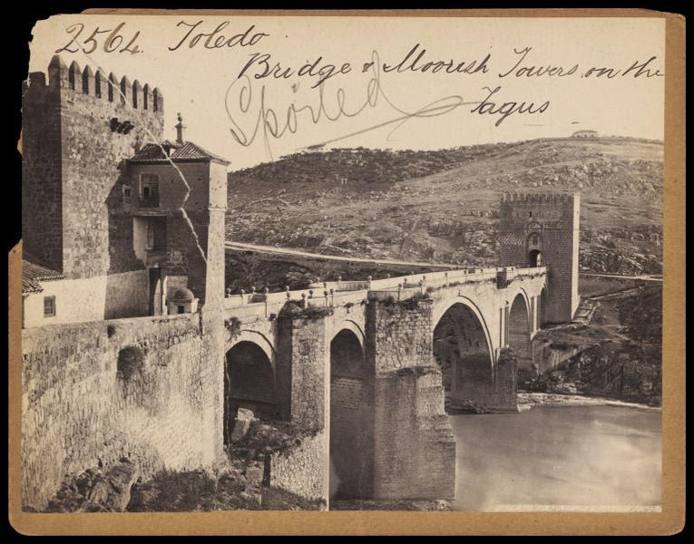 Puente de San Martín hacia 1860. Fotografía de Francis Frith. © Victoria and Albert Museum, London