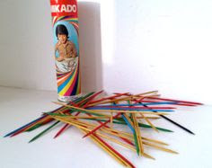 Vintage children's games - Pick-up Sticks