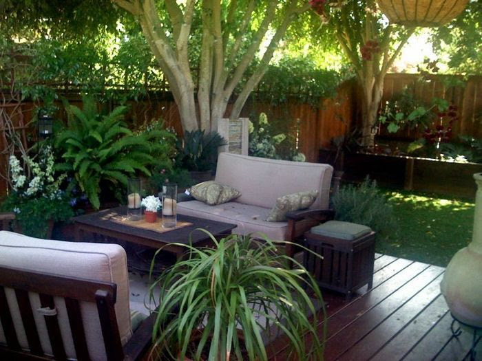 Outdoor ideas for small backyards