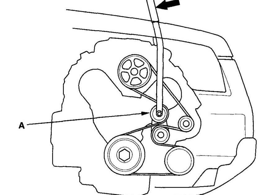 2008 Honda Civic Belt Diagram