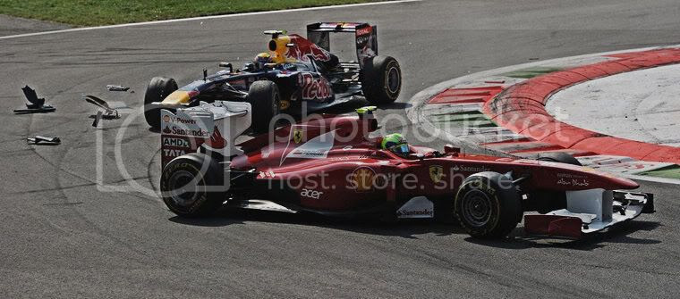 Webber Massa Monza Italia accidente 2011