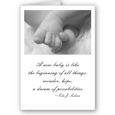 Greeting Card Baby Quote P137736849917159336z7suj New Tech