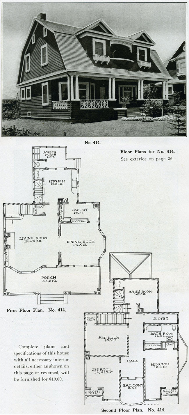 1910 - The Bungalow Book - No. 414