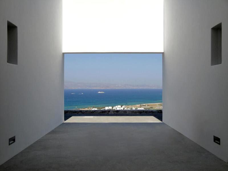 perierga.gr - Πολυτελής κατοικία εναρμονισμένη με το φυσικό περιβάλλον του Αιγαίου