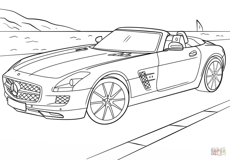 Klick das Bild Mercedes Benz SLS AMG