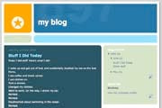 Limitations of free blog sites; click for enlarged image.