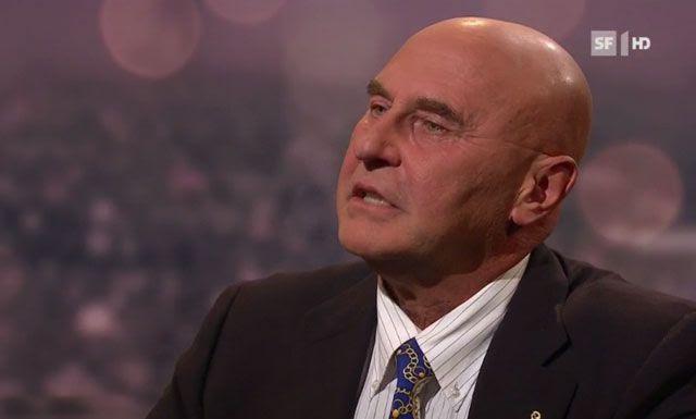 «Ich bin ich»: Anwalt Valentin Landmann. Bild: Screenshot