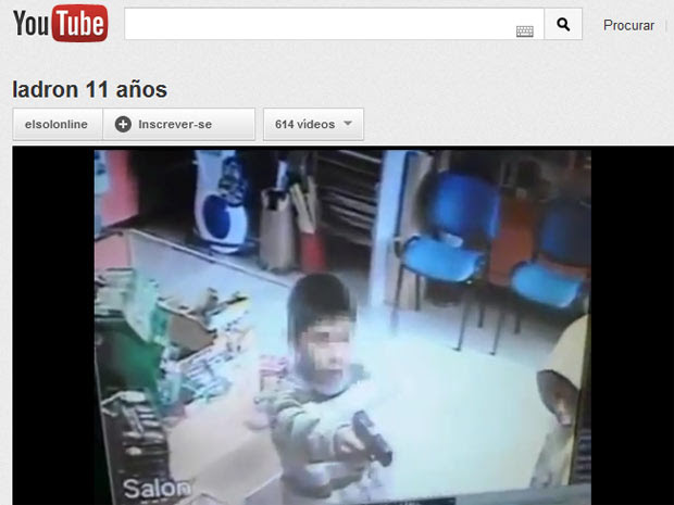 Resultado de imagem para crianças assaltam