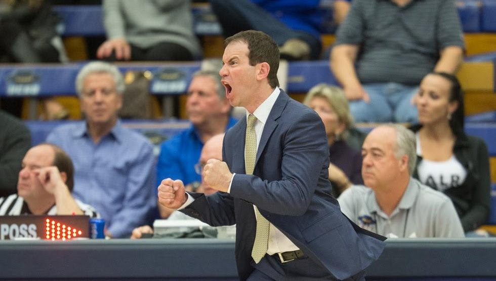 Second-year head coach Joe Pasternack will get a preview of his 2018-19 Gauchos when they play three games in Vancouver from Aug. 21-25. (Photo by Eric Isaacs)