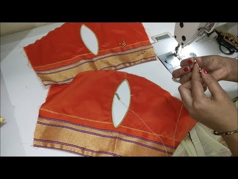 Beautiful Sleeves designs For Blouse/cutting