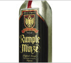 "Kahula Recipes: The ""Black Ice"" cocktail made with Rumple Minze and coke."