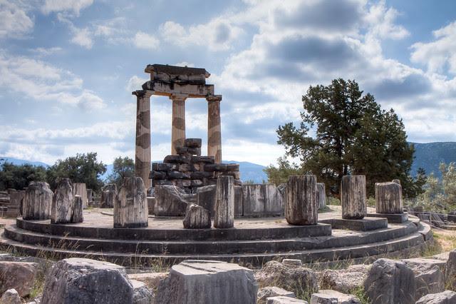 The Sanctuary of Athena Pronaia - Delphi Tholos
