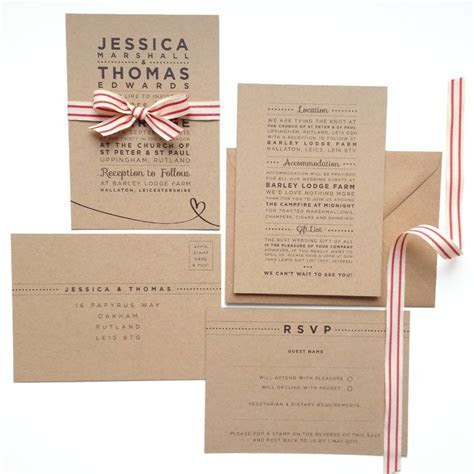 'henley rustic kraft' wedding save the date cards by megan