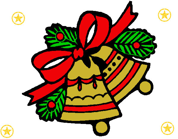 Dibujo De Campanas De Navidad 1 Pintado Por Caramelo89 En Dibujos