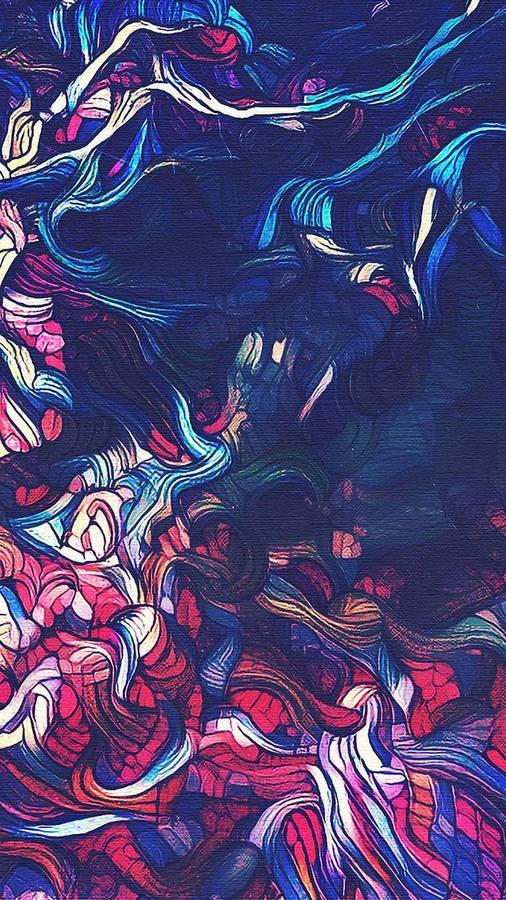 Wind Surfer, by Linda McCoy, painting by Linda McCoy