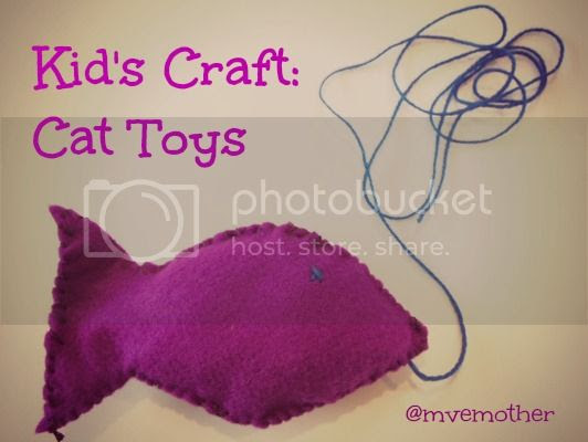 My Very Educated Mother - Kid's Craft: Cat Toys