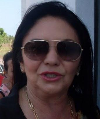 Prefeita Tina Monteles.