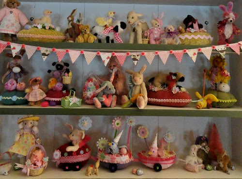 easter shelves
