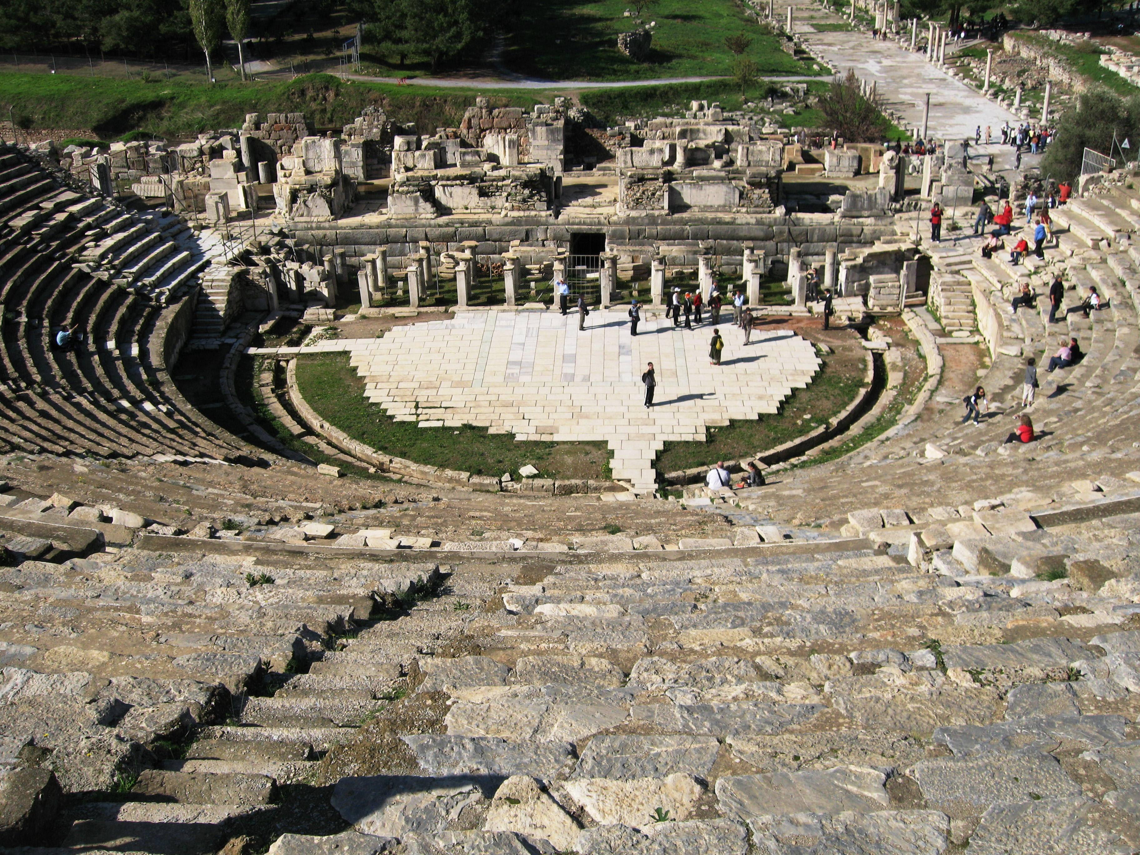 Teatro romano em Éfeso