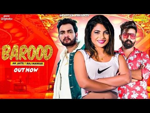 Barood Song Lyrics - Manisha Sharma and Raj Mawar