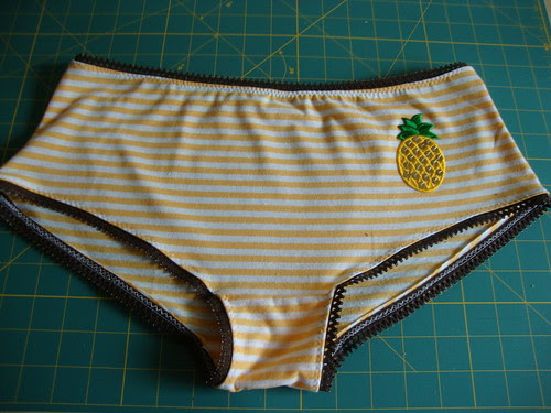 pineapple underwear