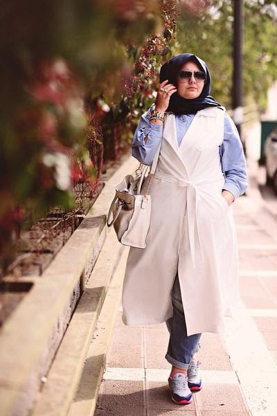 Tips Memilih Hijab untuk  Wanita  Bertubuh  Gemuk  Fashion