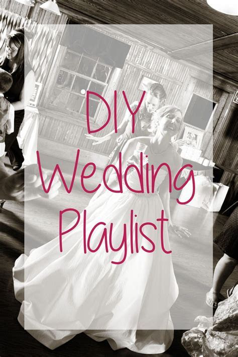 Wedding Wednesday: DIY Wedding Playlist; tips on how to
