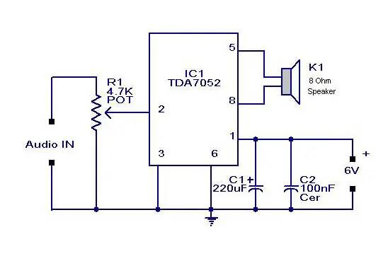 usb audio amplifier circuit diagram - mini amplifier circuit - usb audio  amplifier circuit diagram