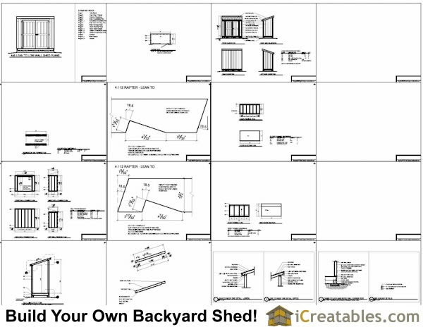 Koras instant get 8x8 shed plans materials list for Free shed design software with materials list