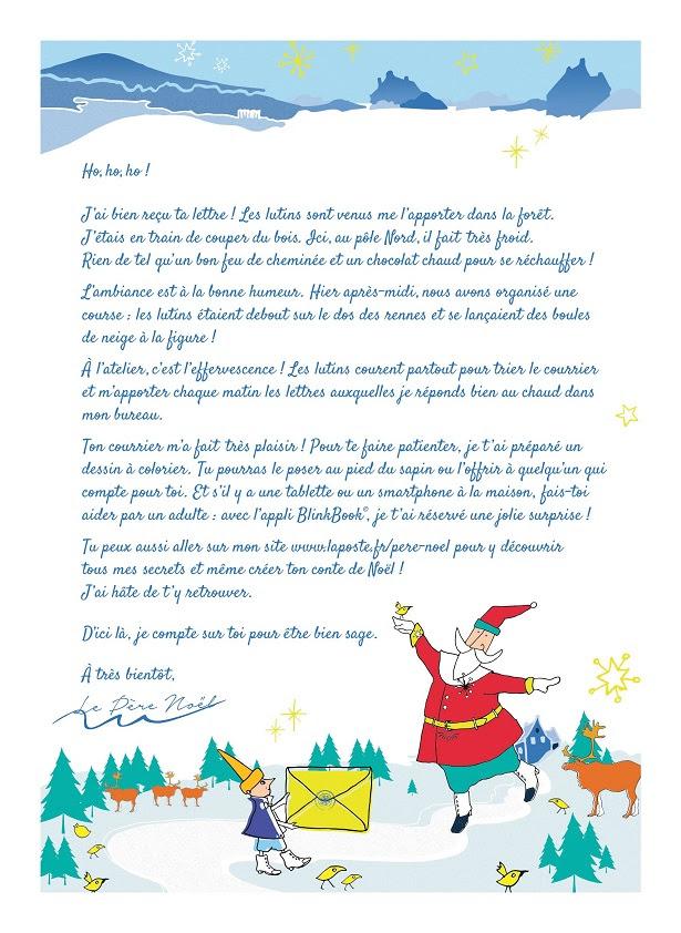 Lettre Au Pere Noel Pas De Reponse - Exemple de Lettre