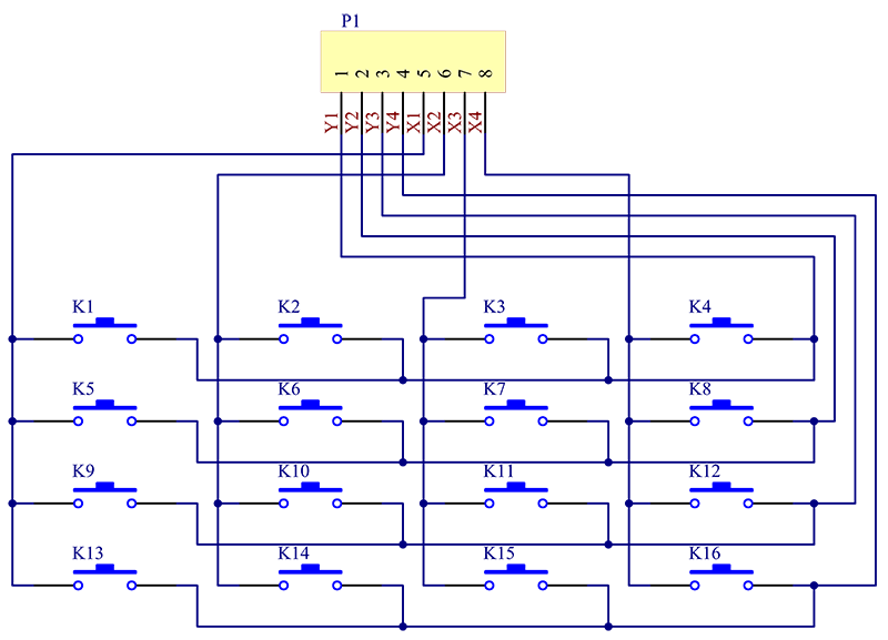 Ici Keypad Wiring Diagram