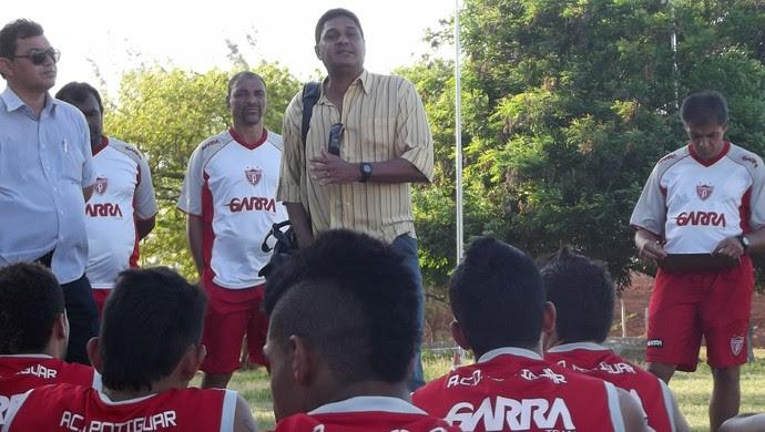 Flávio Barros, técnico do Potiguar de Mossoró (Foto: Marcelo Diaz/Divulgação)