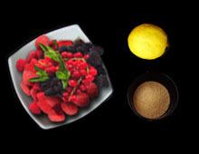coulis fruits rouges maison vegan vegetalien