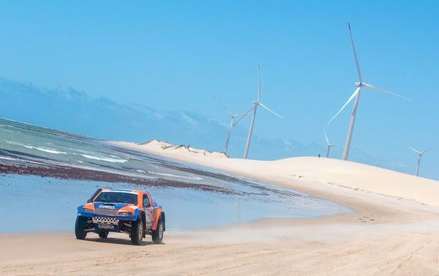 Lucas Moraes e Beco Andreotti são campeões do Rally RN 1500 (Foto: DFotos/Divulgação)